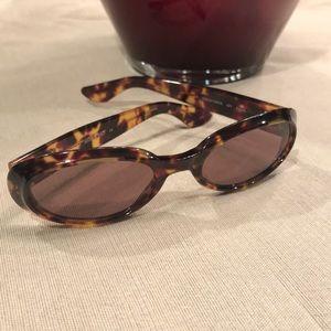 Vintage Gucci tortoise shell sunglasses.